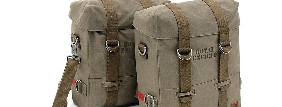 Militärische Packtaschen Paar, oliv
