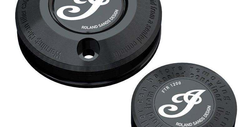 Cover-Set Bremsflüssigkeitsbehälter by Roland Sands Design® - FTR1200