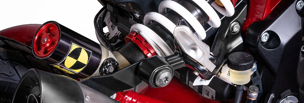 QD COMPOSIT - Einstellbares Sportfahrwerk - Mupo Federbein hinten - FTR1200