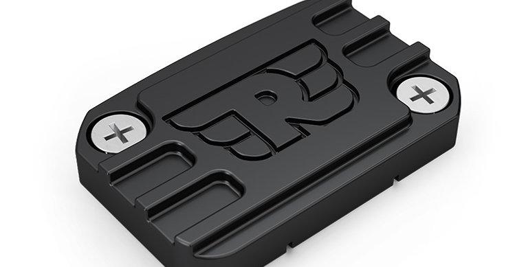 Royal Enfield - Gefräster Deckel für Bremsflüssigkeitsbehälter vorne - Schwarz