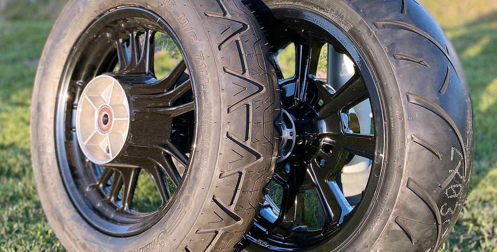 Felgenverbreiterung auf 6x17 Zoll (passend für 200er Reifen)