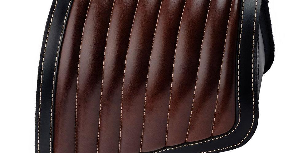 Leder-Solotasche - Indian Scout Bobber - Farbe:  braun / schwarz (Originaloptik)