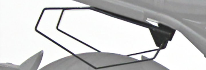 Seitentaschenhalterung für schwarze Taschen - Brixton Crossfire 500 / X