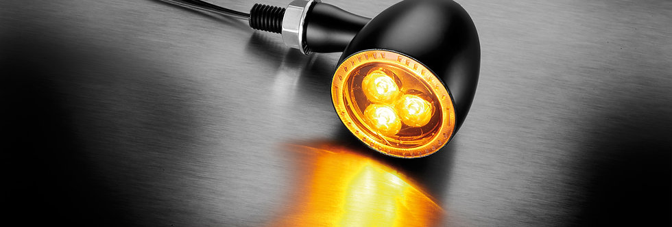 Kellermann - Bullet 1000® Dark LED-Blinker - schwarz - Universal