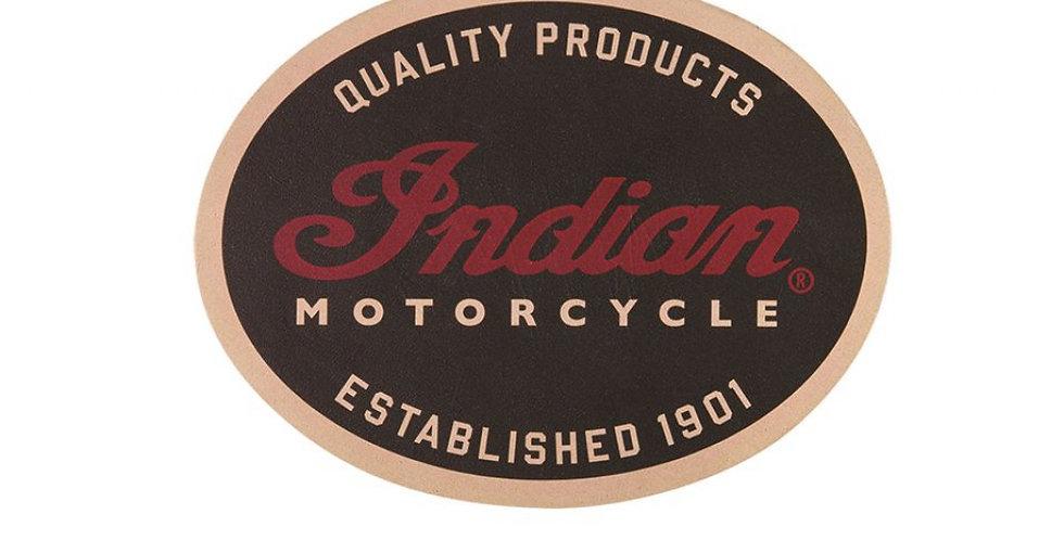 INDIAN MOTORCYCLE® QUALITÄTS-LEDERAUFNÄHER