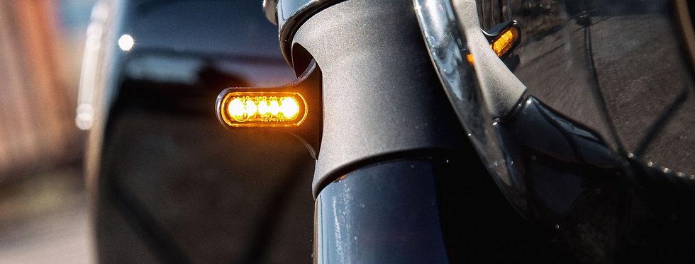 Scout Bobber - Wunderkind - Cover Gabelstandrohre inkl. LED-Blinker