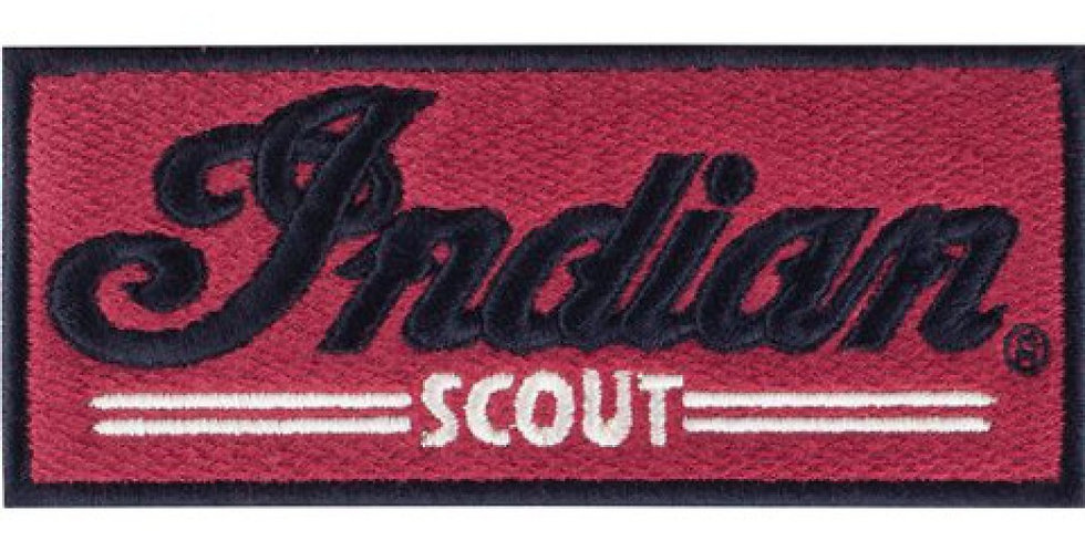 INDIAN MOTORCYCLE® SCOUT PATCH ROT