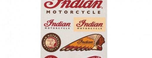 Indian Logo Sticker Set
