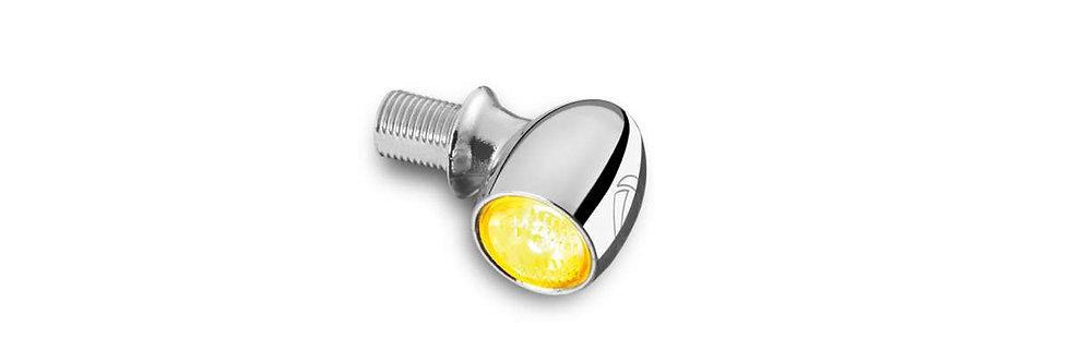 Kellermann - Atto® Dark LED-Blinker- chrom - Universal
