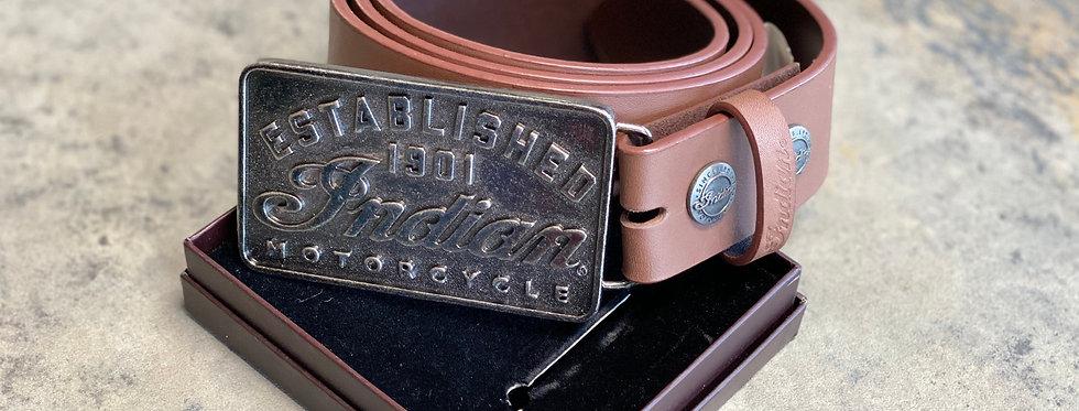 Indian Ledergürtel inkl. Metallschnalle - XL (125cm)