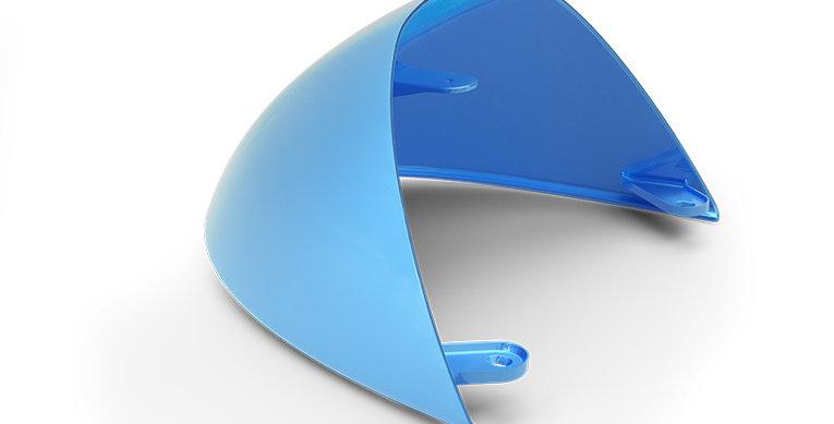 Royal Enfield - Abdeckung Einzelsitz -blau
