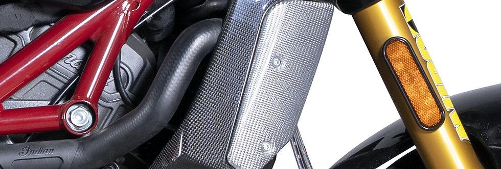 QD COMPOSIT - Carbon / Alu Kühlerschutz - FTR1200