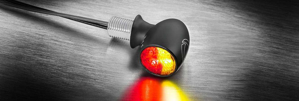 Kellermann - Atto® DF LED-Blinker/Rücklicht-Kombi - schwarz - Universal
