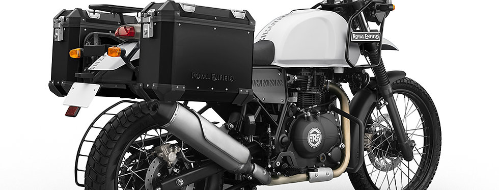 Aluminiumkoffer Kit inkl. Halterungen - Himalayan - schwarz