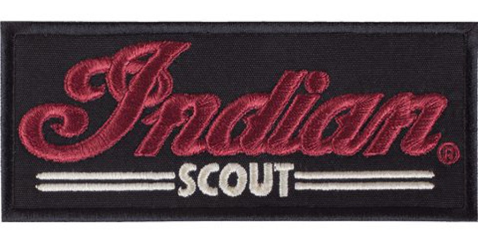 INDIAN MOTORCYCLE® SCOUT PATCH SCHWARZ