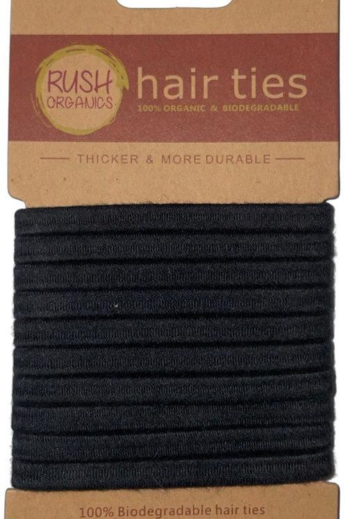 Plastic Free Hair Ties