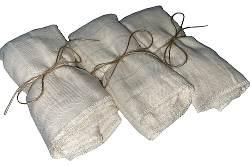 Organic Cotton Muslin Squares (Set of 3)