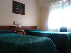Habitación de dos camas
