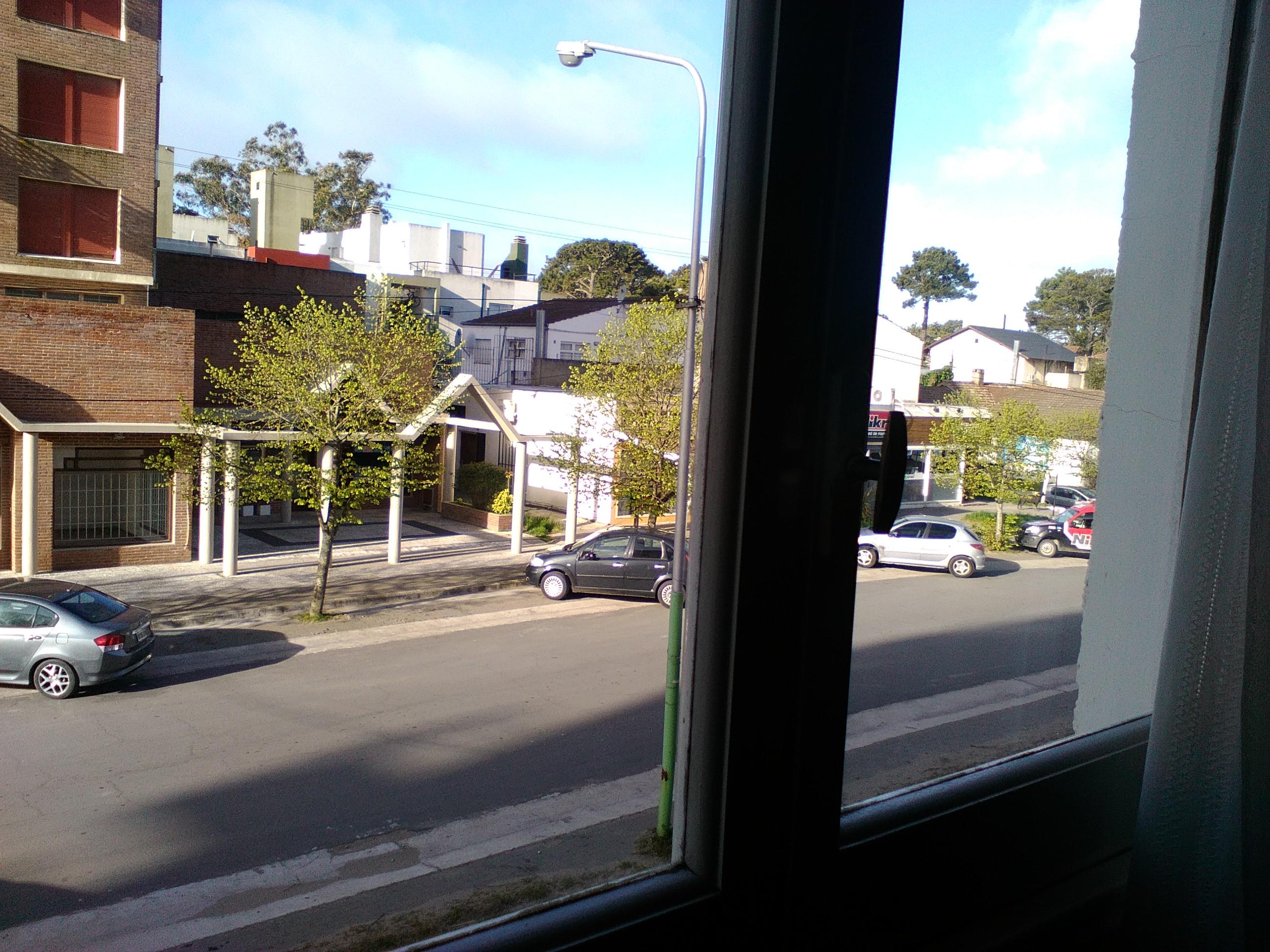 Vista desde ventana de habitación