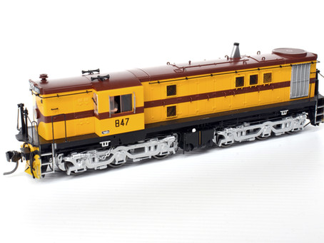 NSWGR 48 / SAR 830 class by Trainorama
