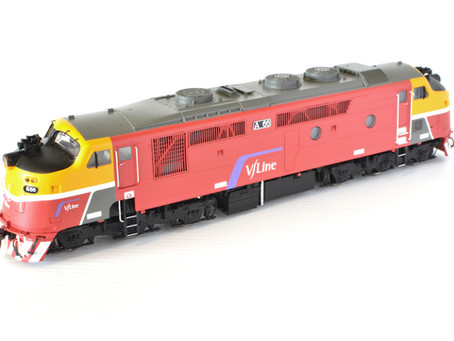 V/Line A class by Auscision Models