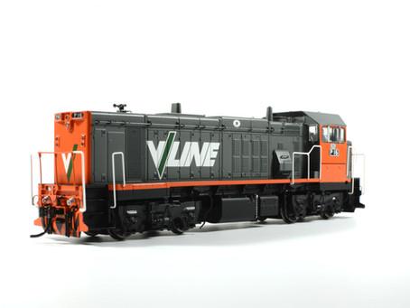 V/Line P class by Bendigo Rail Models