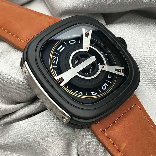 A New Generation Stylish Two Different Leather Watch Set