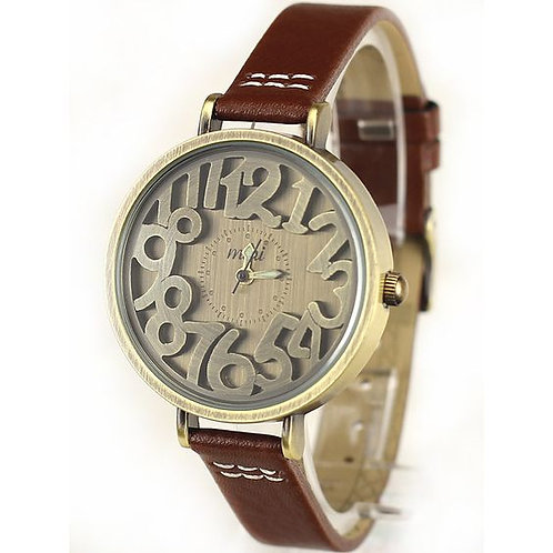 Studying Leather Watch For Womens