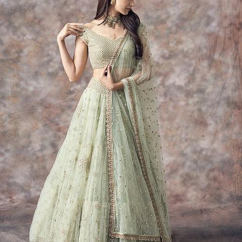 Indian Engagement Lehenga For Indian Bridal