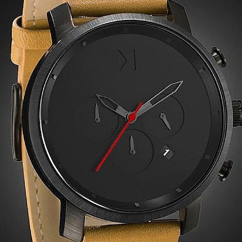 Leather Mat Blacl Dial Stunning Watch