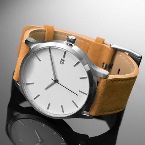 Tow Impressive White Dial Men's Watch