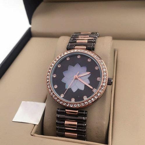 Water Resistant new fashion diamond ladies wrist Two Pair watches