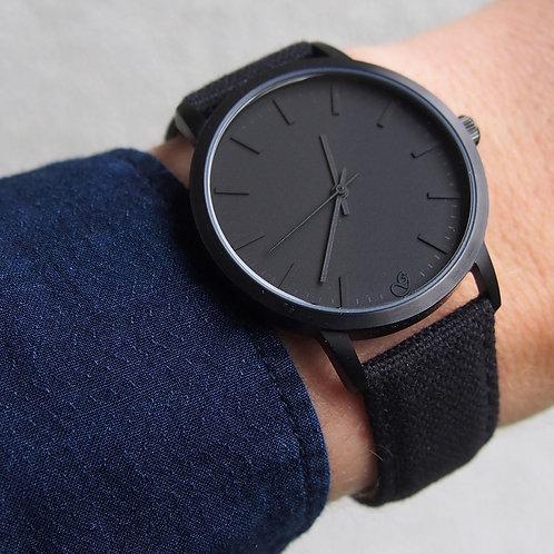 Cotton Belt Amazing Matte Black Dial Men's Watch