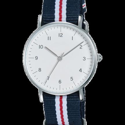 Cotton Belt With White Dial Men's Watch Cotton Belt With White Dial Stunning Wat
