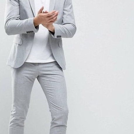 Gray Color Coat Mens Stylish Dress Code