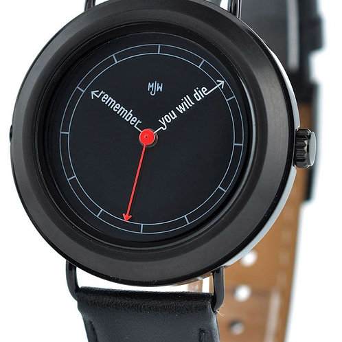 Mat Black Casual Good Looking Mens Watches