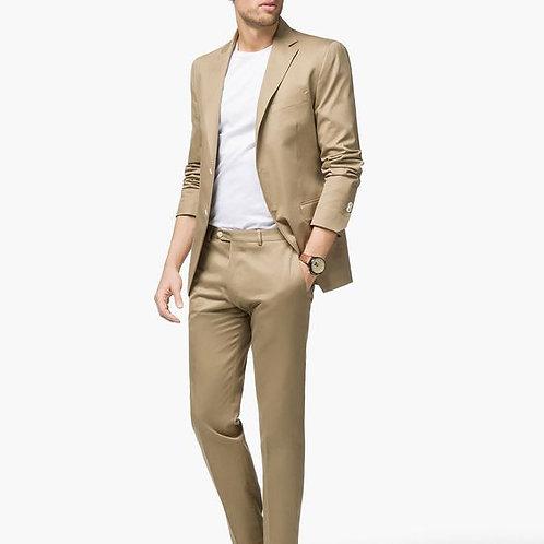 parmesan Colour Mens Stylish Formal Suit