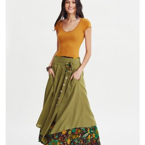 Long Skirts Dijon Colour Top Traditional Indian Wear