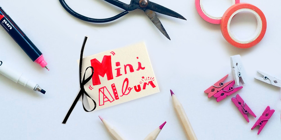 Crée ton mini album illustré 🎨 📒