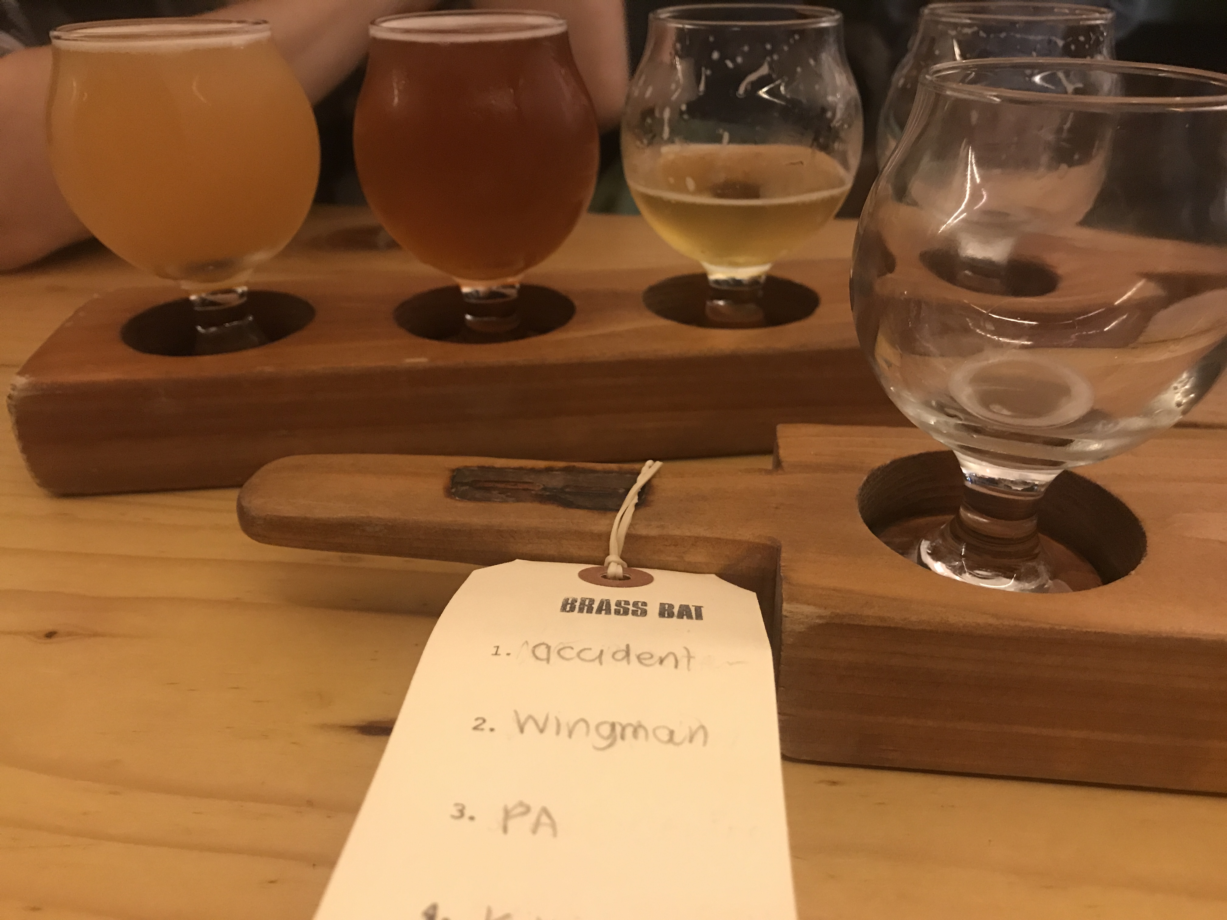 Flight of tasters