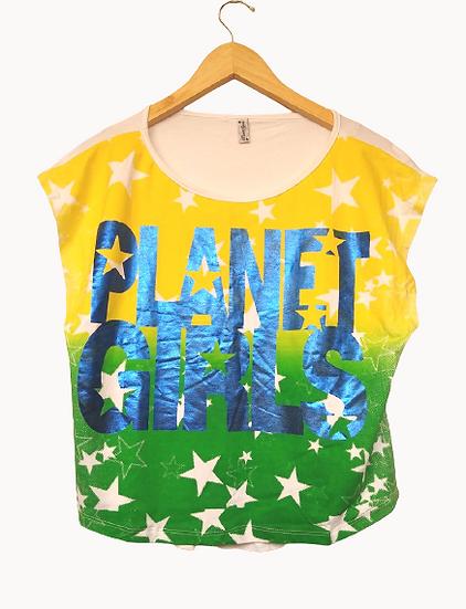 Camiseta Brasil Planet Girls - P M