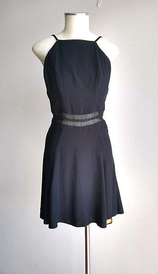 Vestido de alcinhas preto Lez a Lez