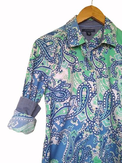 Camisa estampada Tommy Hilfiger - P