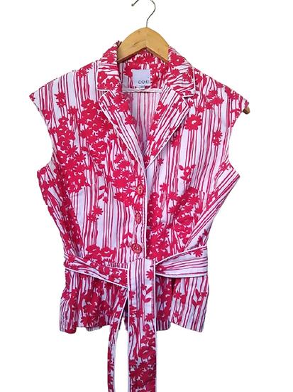 Blusa casaquinho floral Cori - 38