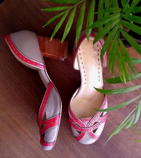 Sapato bicolor Calzato - 35 36
