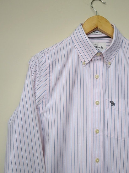 Camisa listrada Abercrombie & Fitch - P