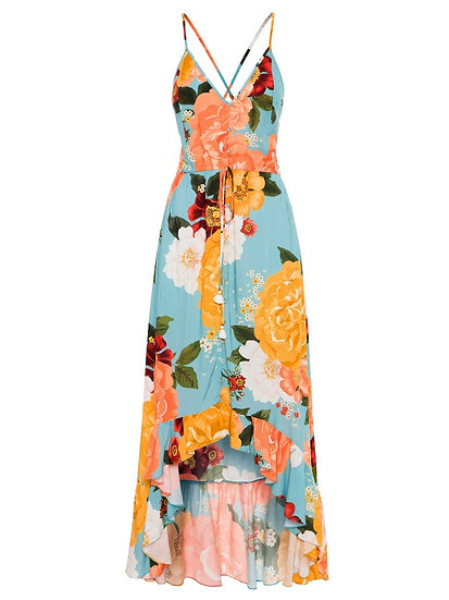 Vestido longo floral Farm - G