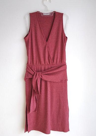 Vestido de malha canelada Ateen - M