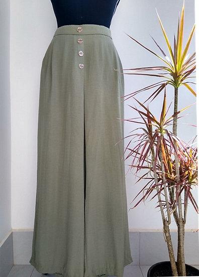 Pantalona verde Primark - 48