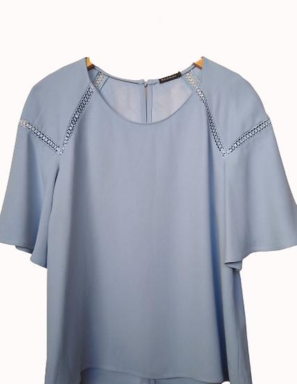 Blusa com entremeios Zara - 42